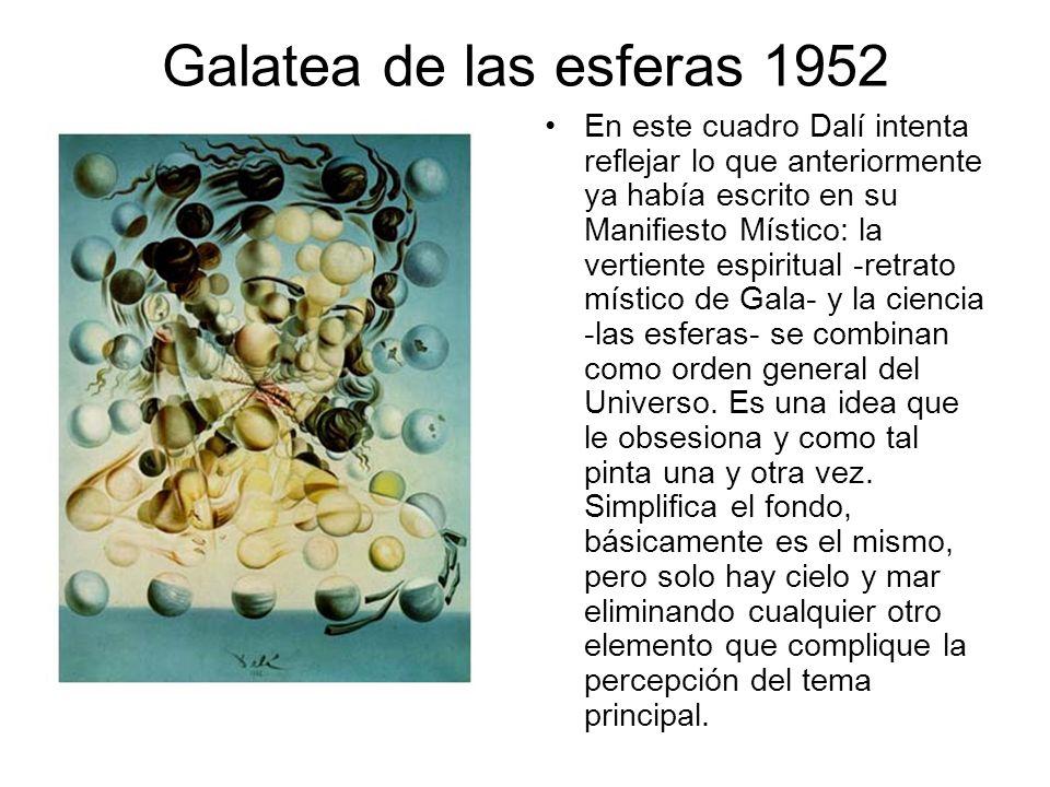 Galatea de las esferas 1952