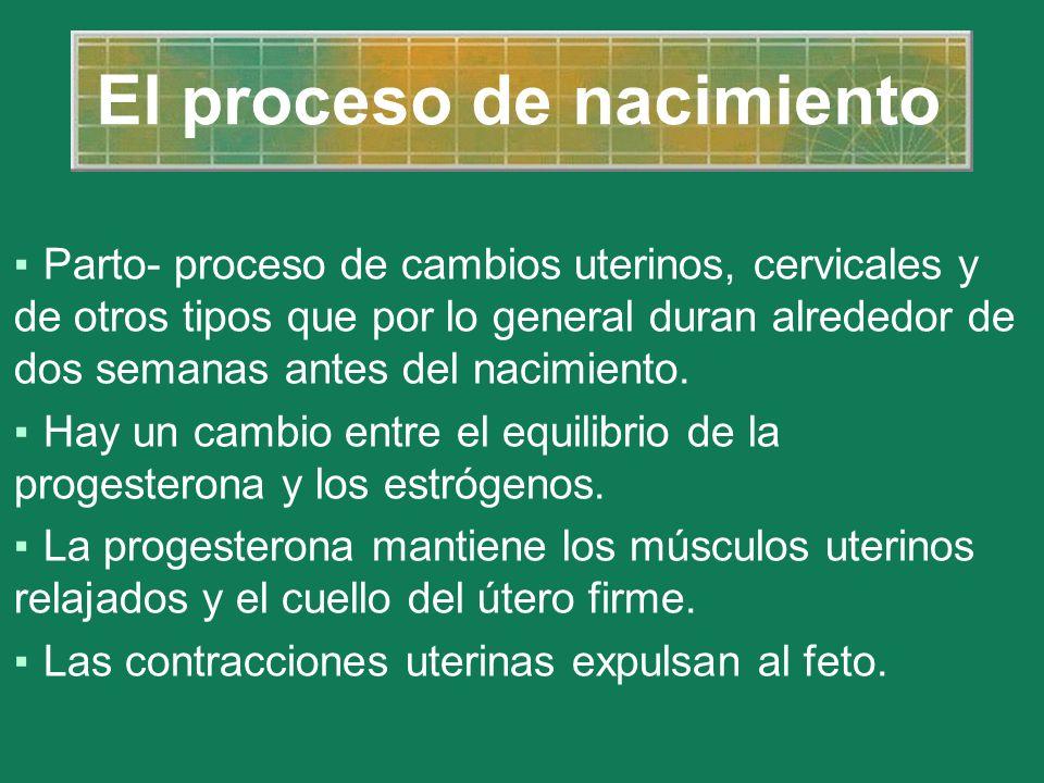 El proceso de nacimiento