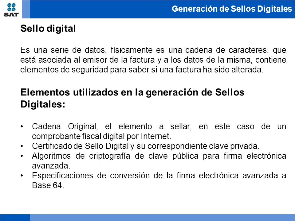 Modernizaci n de la facturaci n ppt descargar for Sellar paro con certificado digital