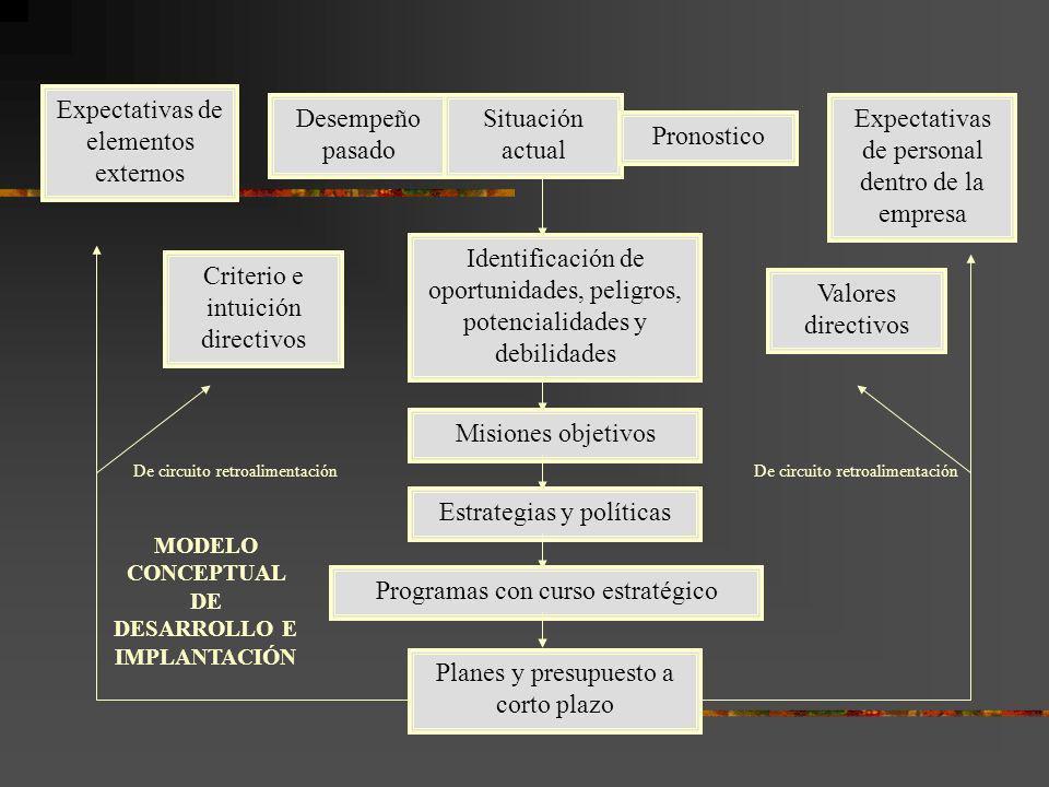 MODELO CONCEPTUAL DE DESARROLLO E IMPLANTACIÓN