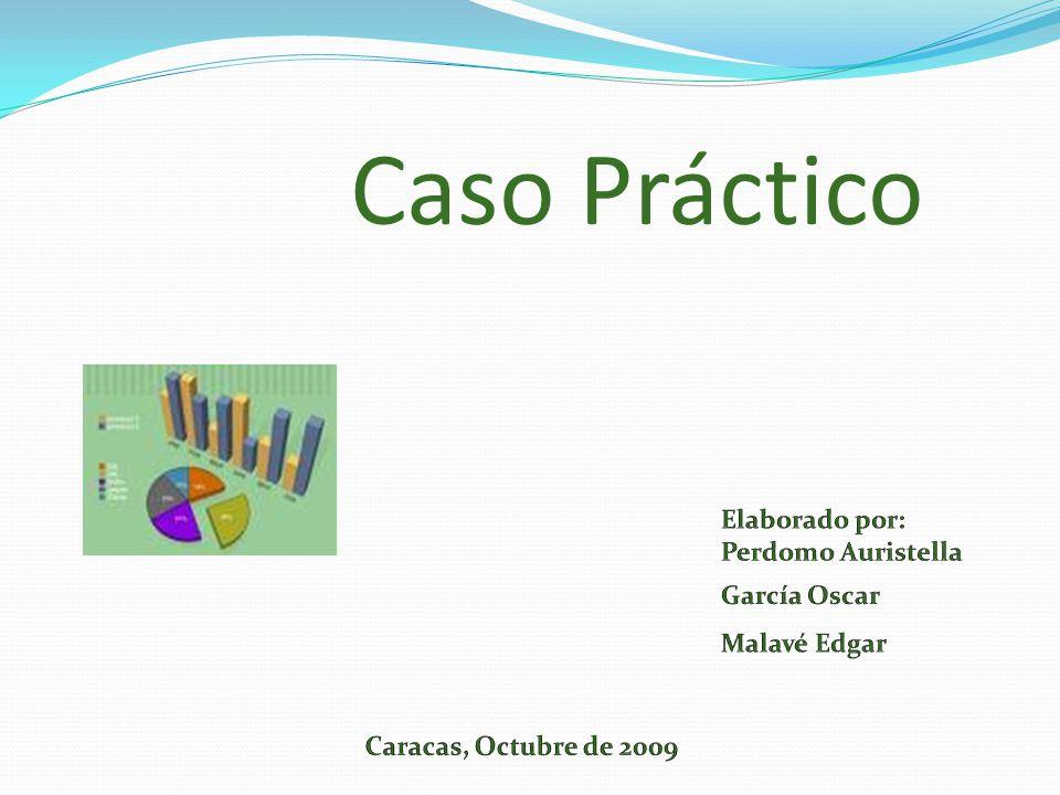 Caso Práctico Elaborado por: Perdomo Auristella García Oscar