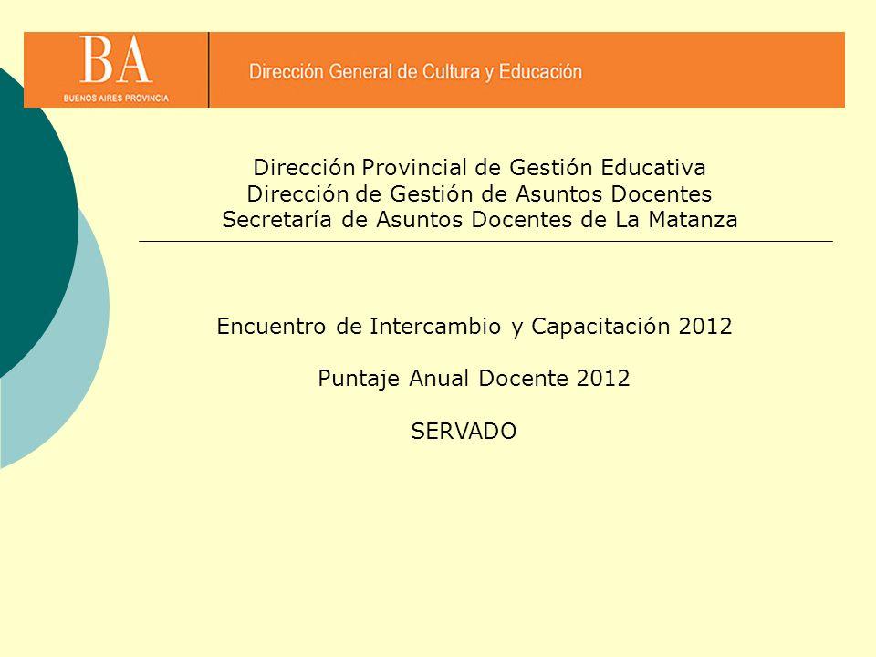 Dirección Provincial de Gestión Educativa