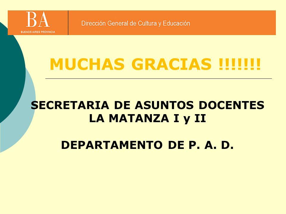 SECRETARIA DE ASUNTOS DOCENTES
