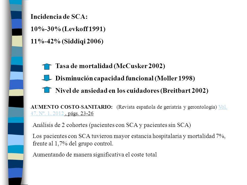 Tasa de mortalidad (McCusker 2002)