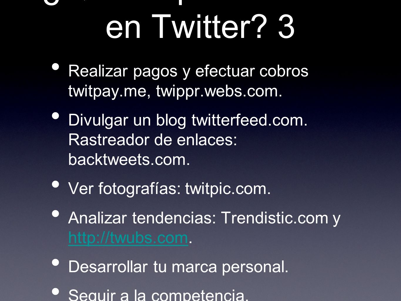 ¿Qué se puede hacer en Twitter 3