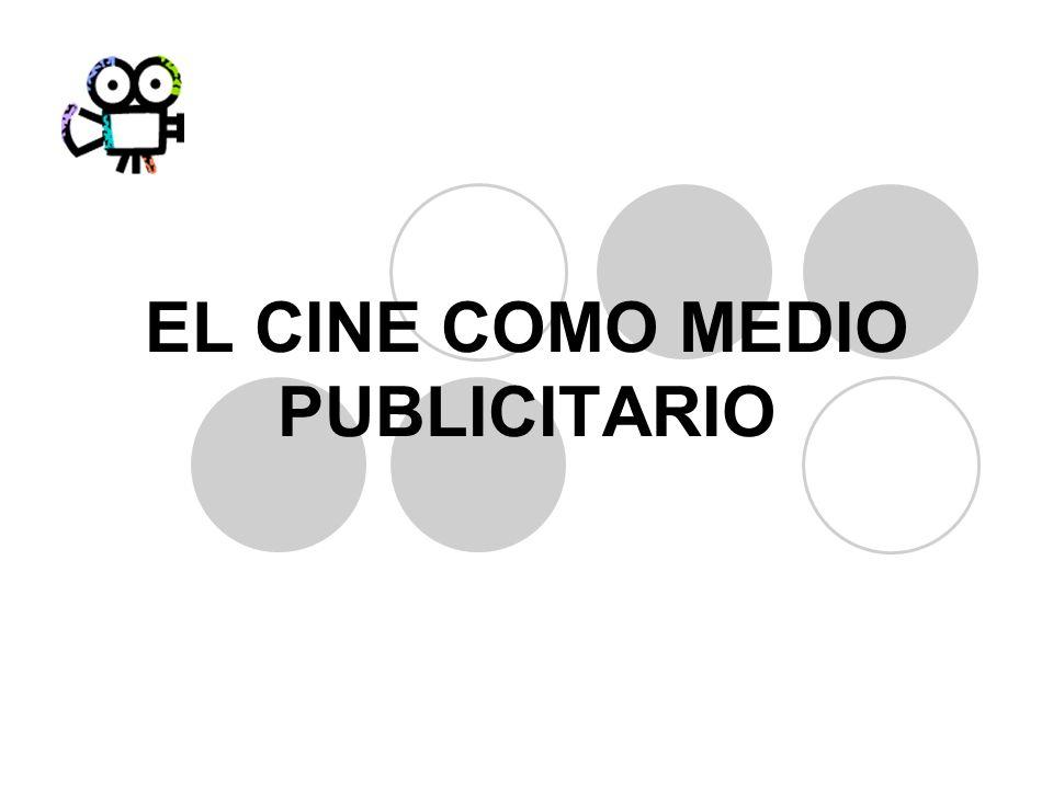EL CINE COMO MEDIO PUBLICITARIO