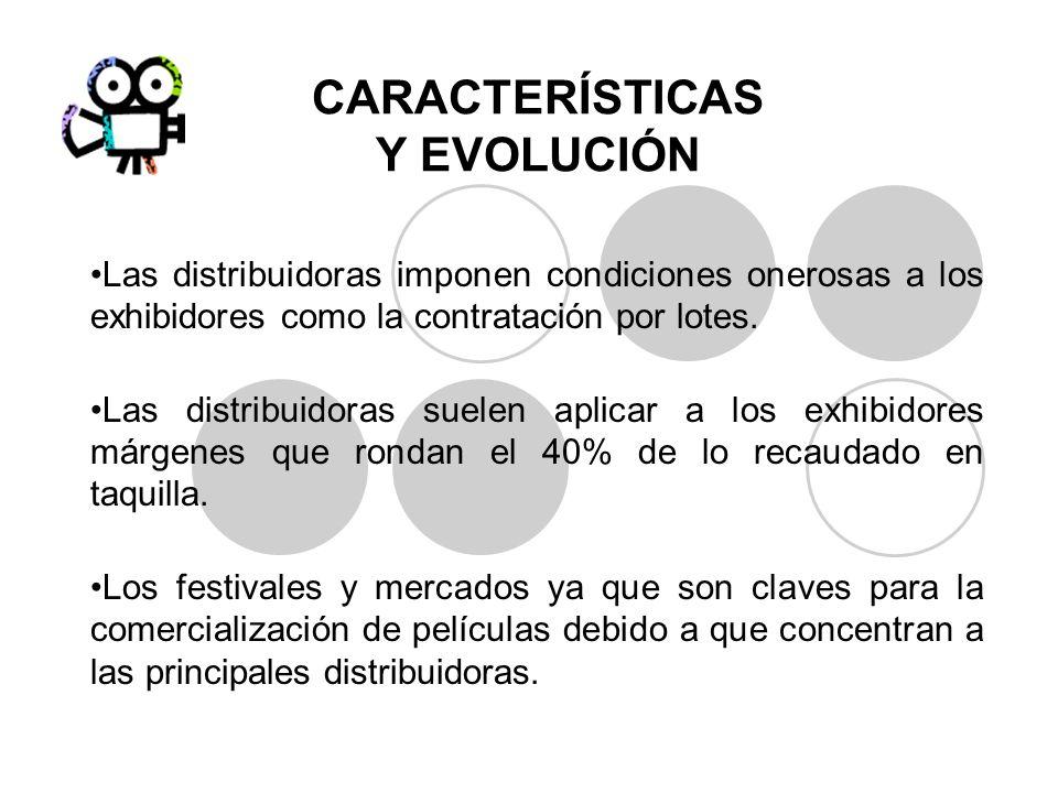 CARACTERÍSTICAS Y EVOLUCIÓN