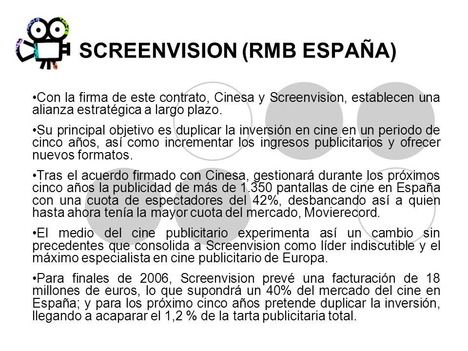 SCREENVISION (RMB ESPAÑA)