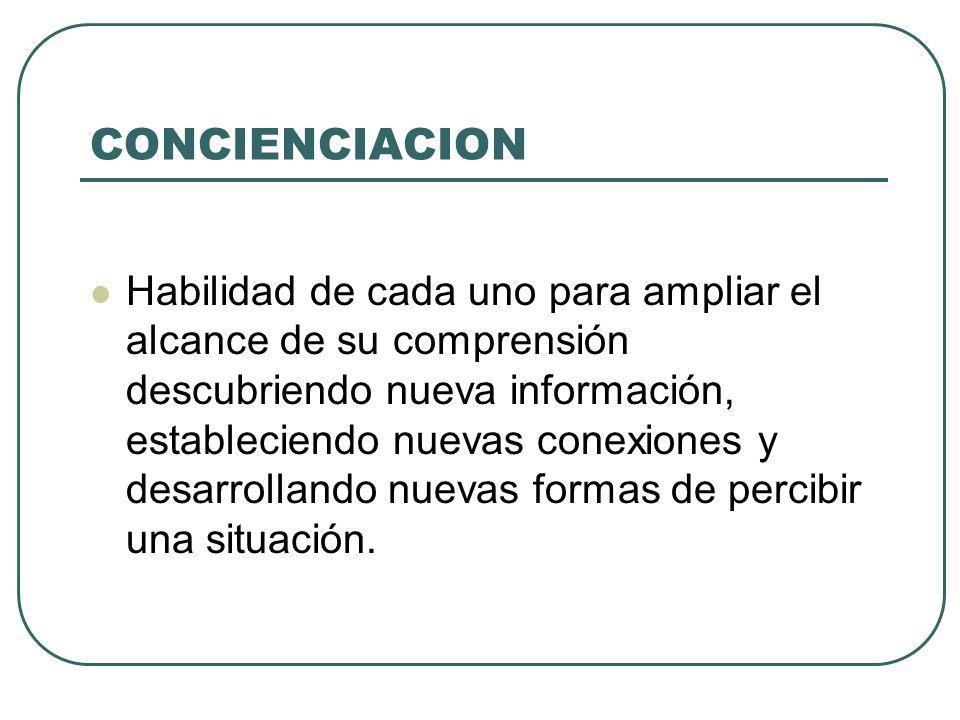 CONCIENCIACION