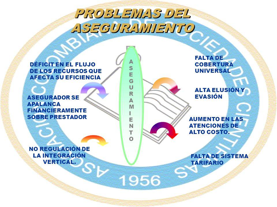 PROBLEMAS DEL ASEGURAMIENTO