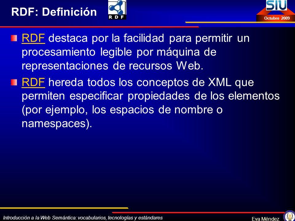 Introducción a la Web Semántica (Curso en Buenos Aires. SIU)