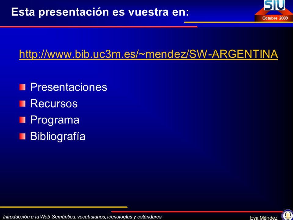 Esta presentación es vuestra en: