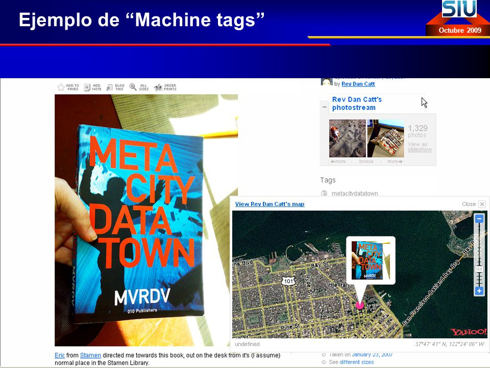 Ejemplo de Machine tags
