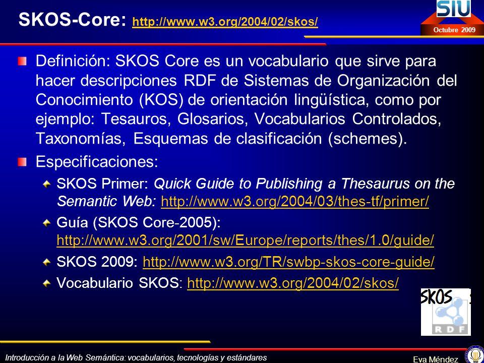 SKOS-Core: http://www.w3.org/2004/02/skos/