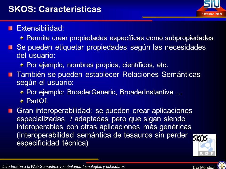SKOS: Características