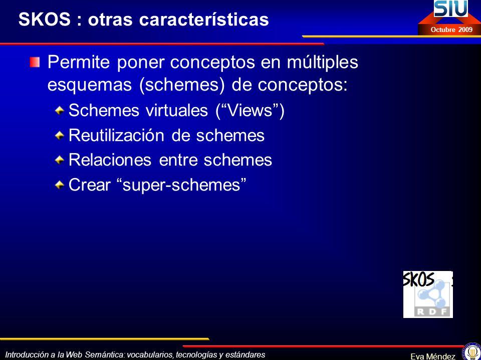 SKOS : otras características