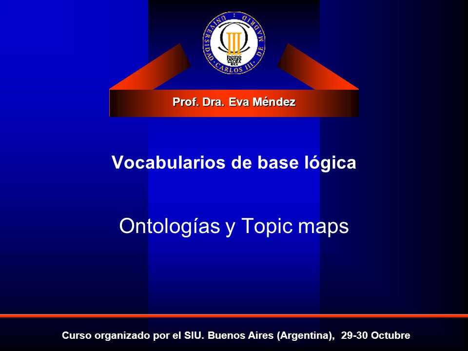 Vocabularios de base lógica