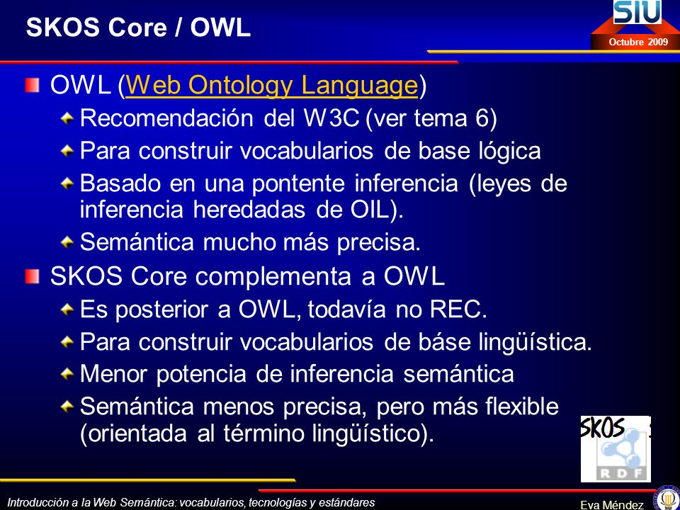 OWL (Web Ontology Language)