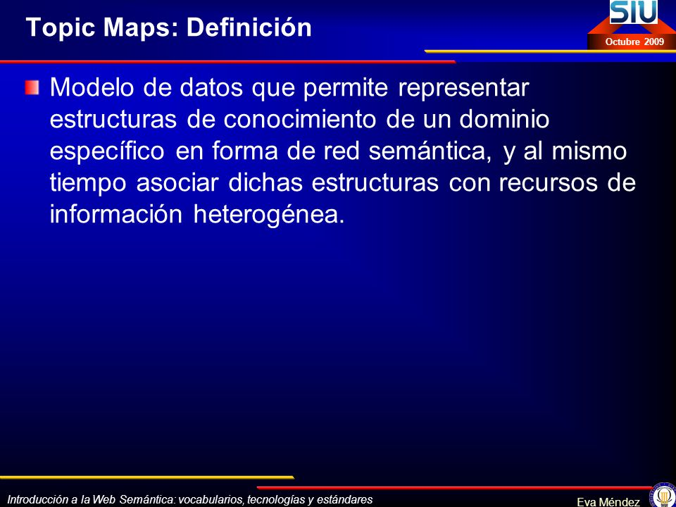 Topic Maps: Definición
