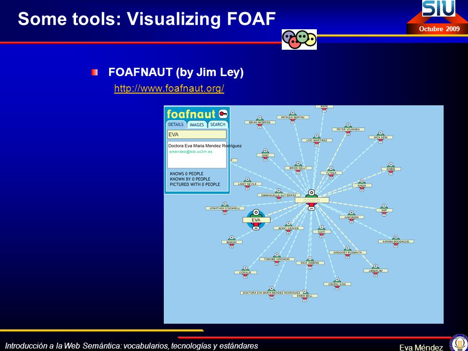 Some tools: Visualizing FOAF