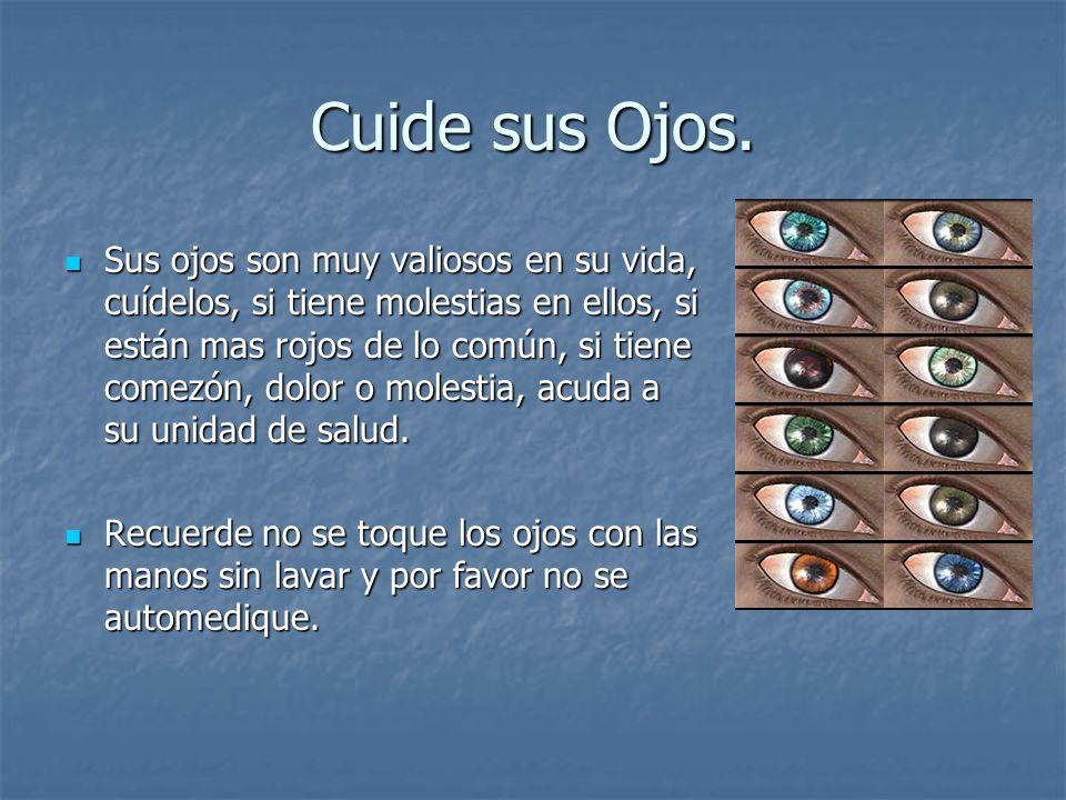 Cuide sus Ojos.