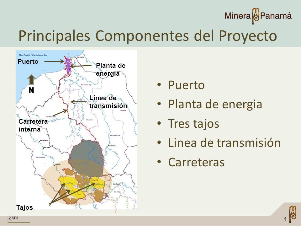 Principales Componentes del Proyecto