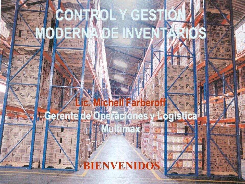 CONTROL Y GESTIÓN MODERNA DE INVENTARIOS Lic