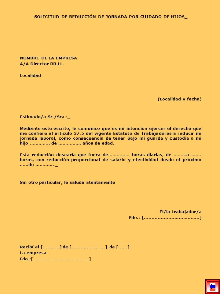 SOLICITUD DE REDUCCIÓN DE JORNADA POR CUIDADO DE HIJOS_
