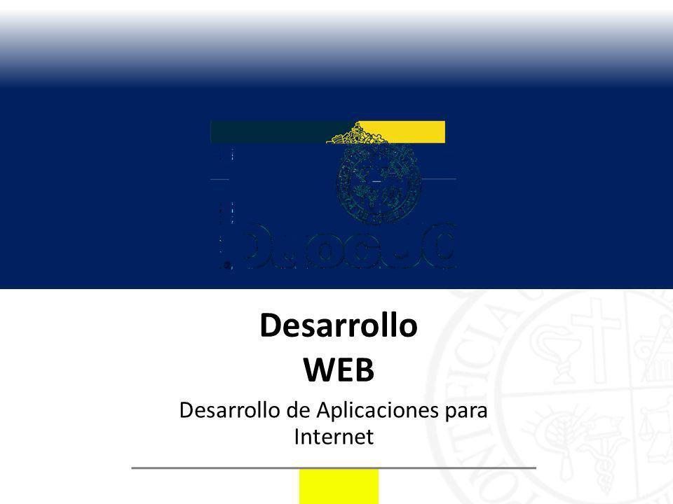 Desarrollo de Aplicaciones para Internet