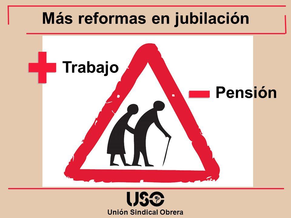 Más reformas en jubilación