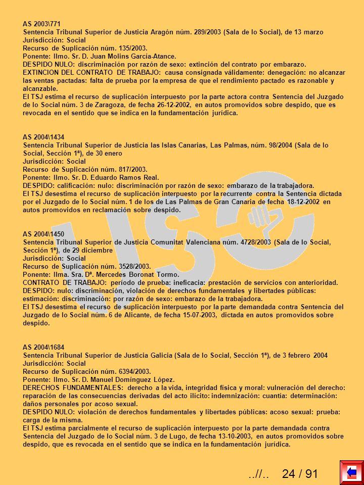 AS 2003\771 Sentencia Tribunal Superior de Justicia Aragón núm. 289/2003 (Sala de lo Social), de 13 marzo.