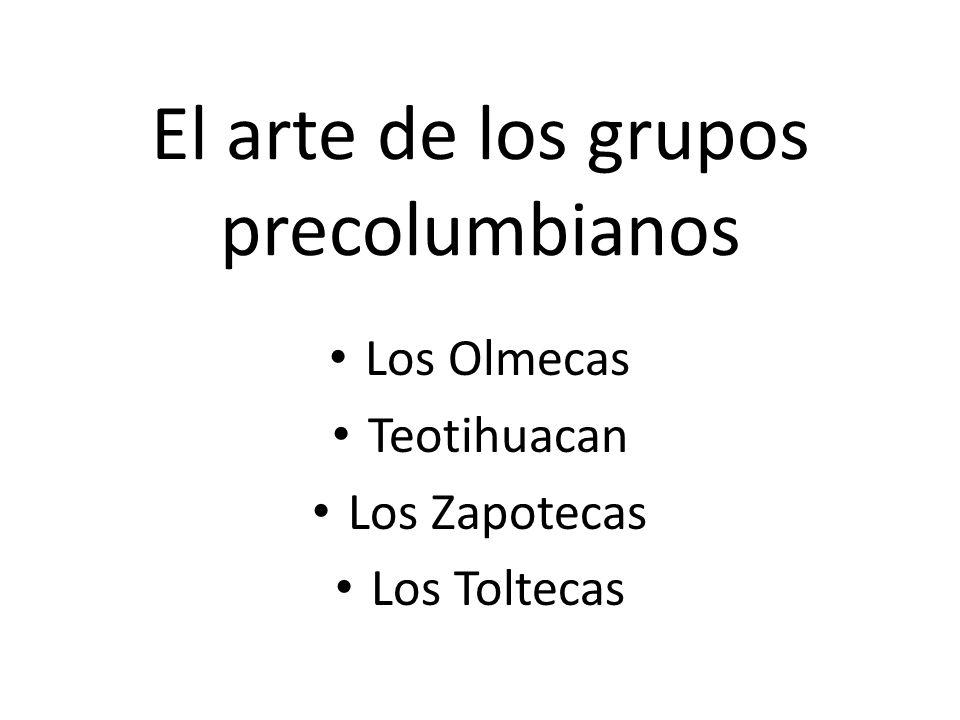 El arte de los grupos precolumbianos