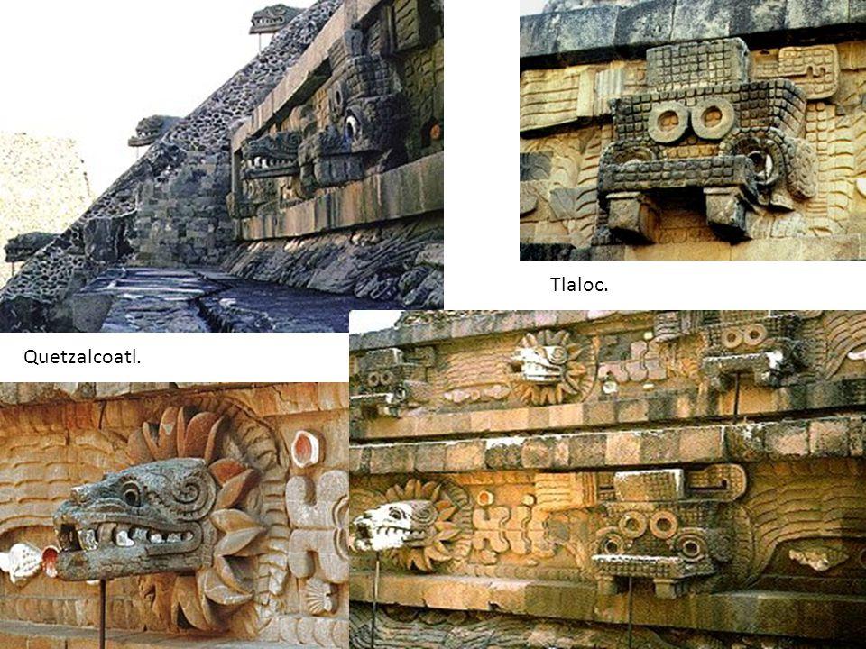 Tlaloc. Quetzalcoatl.