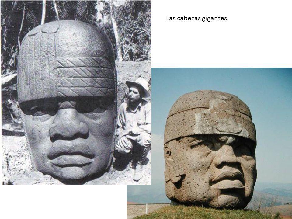 Las cabezas gigantes.