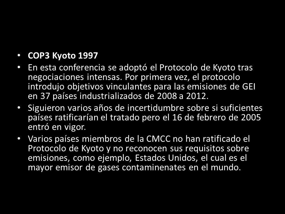 COP3 Kyoto 1997