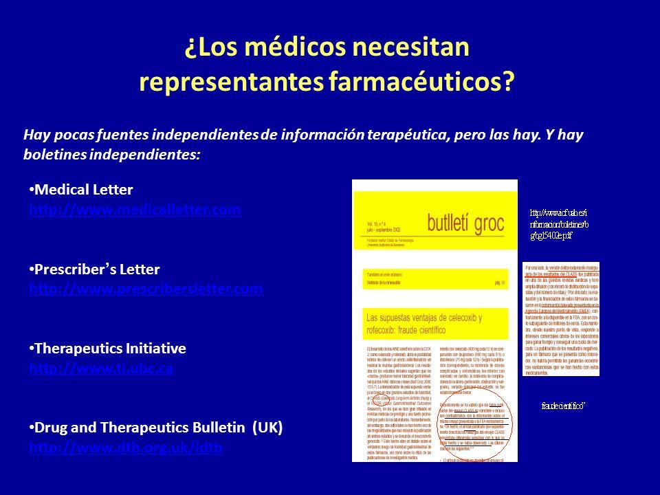 ¿Los médicos necesitan representantes farmacéuticos