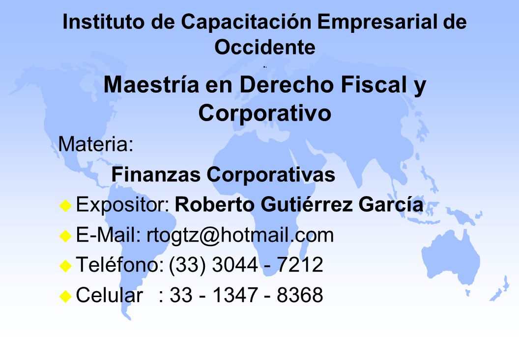 Instituto de Capacitación Empresarial de Occidente