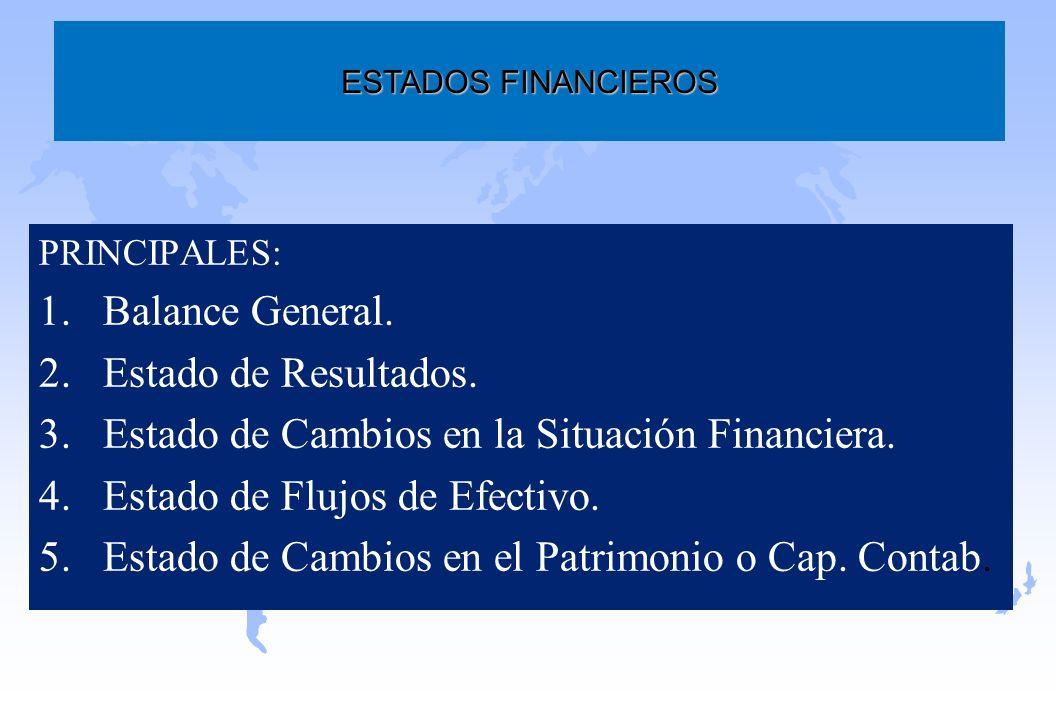 Estado de Cambios en la Situación Financiera.