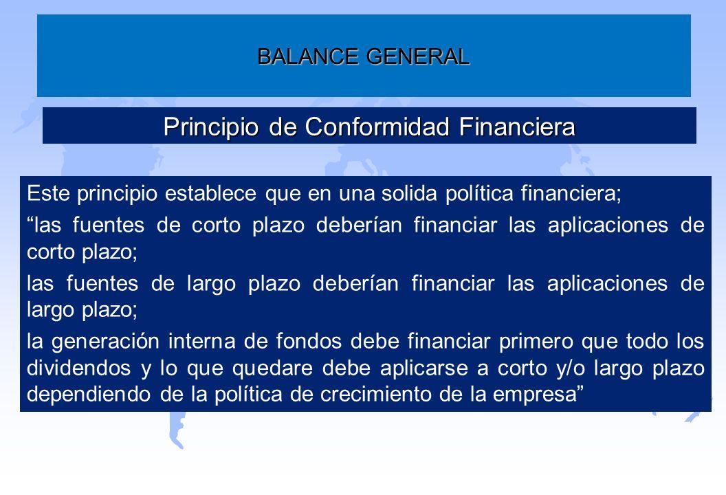 Principio de Conformidad Financiera