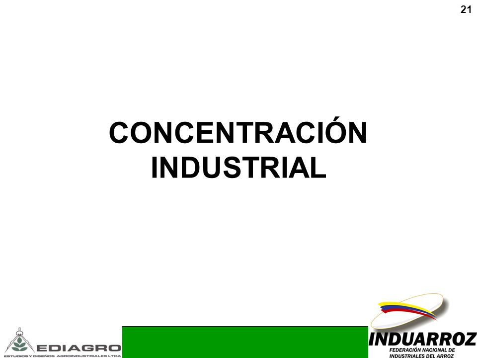 CONCENTRACIÓN INDUSTRIAL