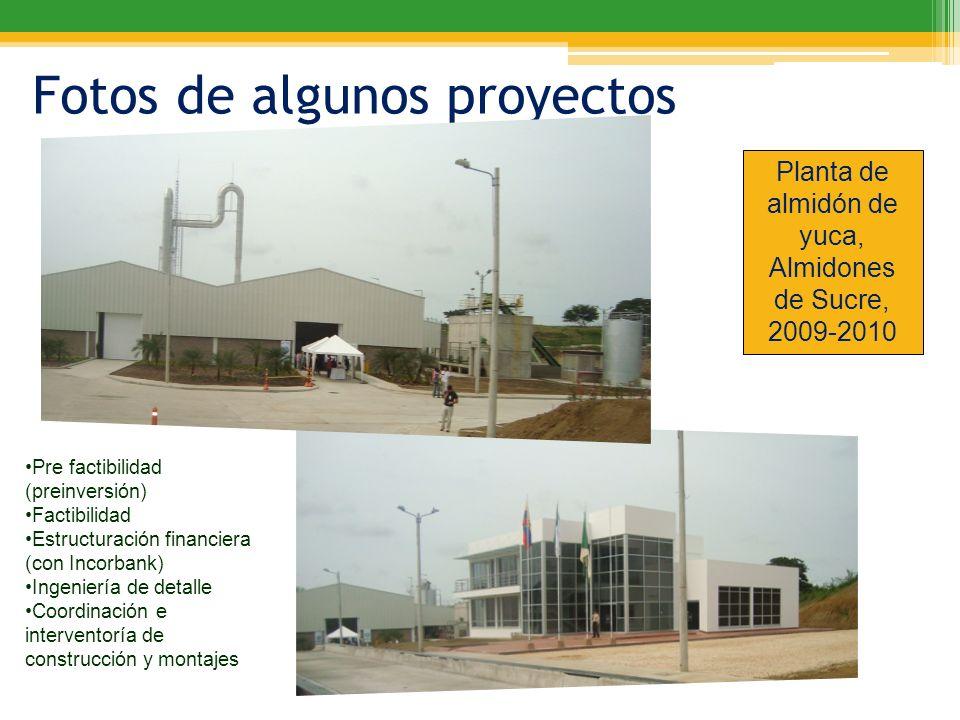 Planta de almidón de yuca, Almidones de Sucre, 2009-2010