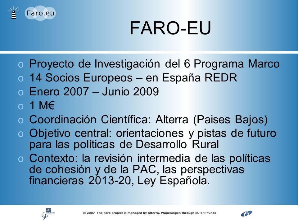 FARO-EU Proyecto de Investigación del 6 Programa Marco