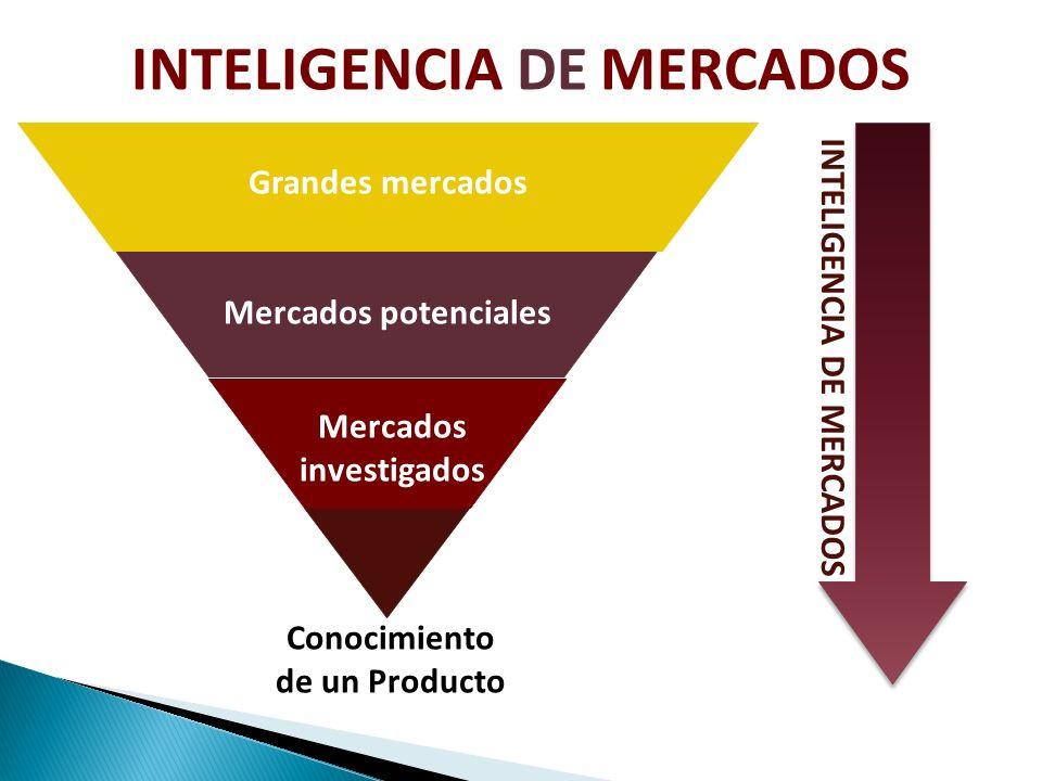 INTELIGENCIA DE MERCADOS INTELIGENCIA DE MERCADOS