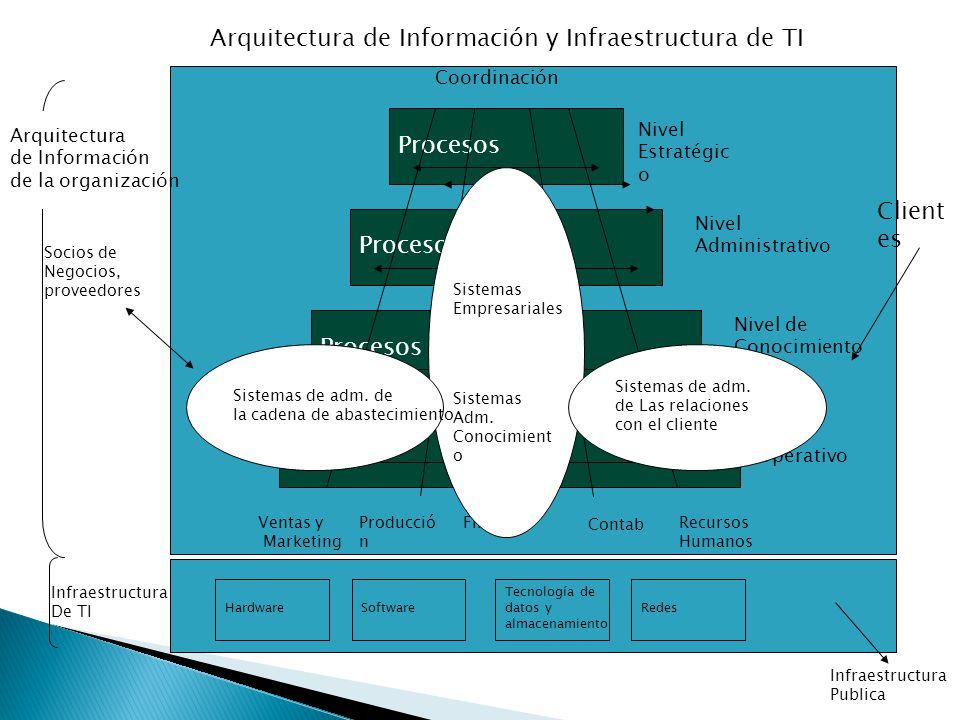 Arquitectura de Información y Infraestructura de TI