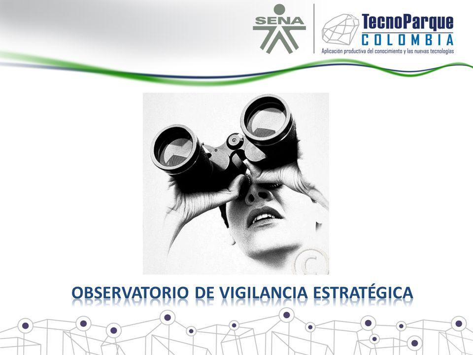 Observatorio de vigilancia estratégica