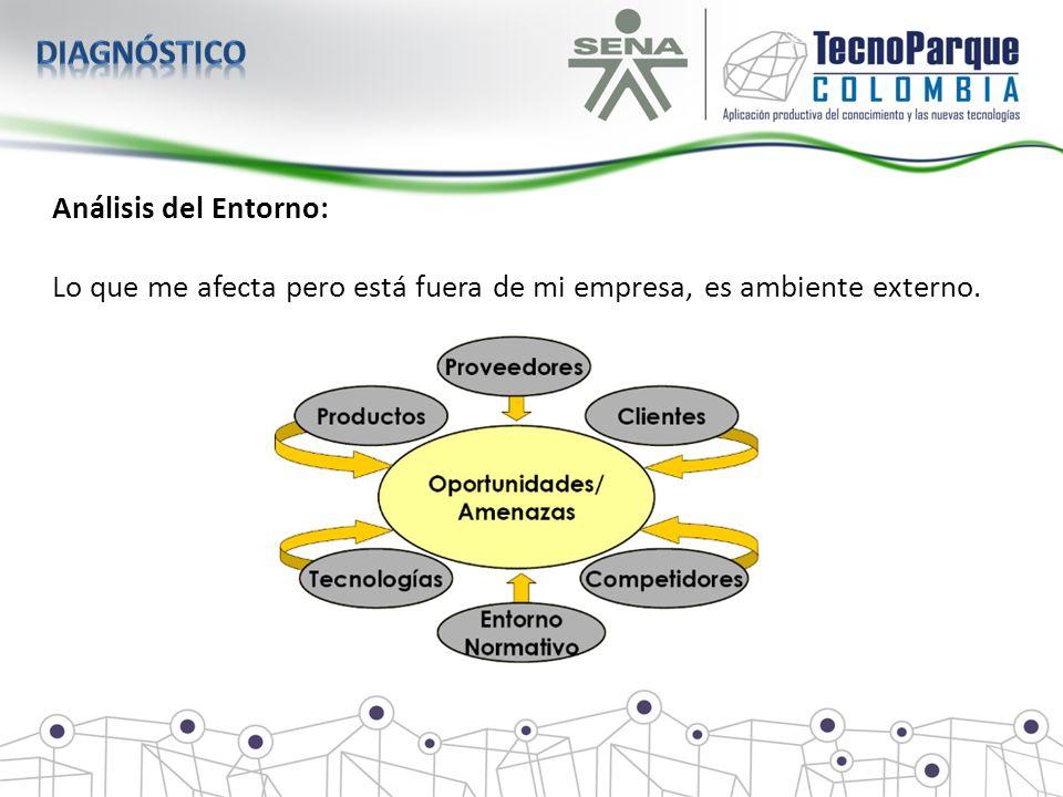 diagnóstico Análisis del Entorno: