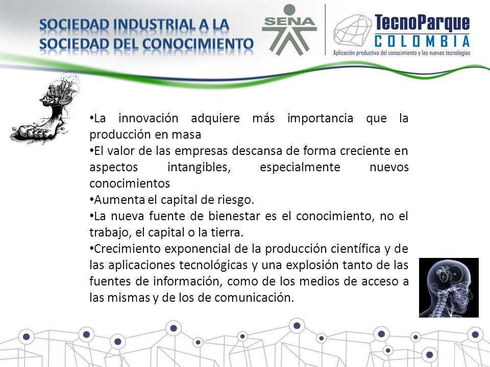 Sociedad industrial a la Sociedad del conocimiento