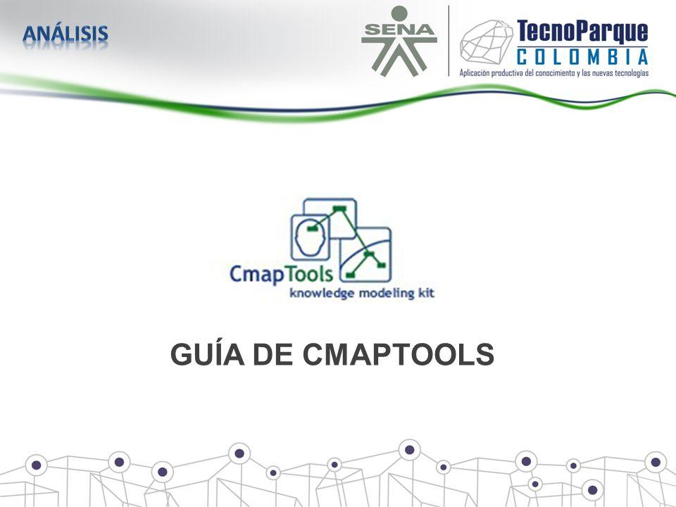 análisis GUÍA DE CMAPTOOLS