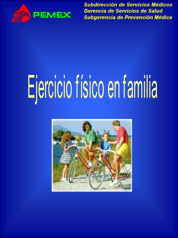 Ejercicio físico en familia