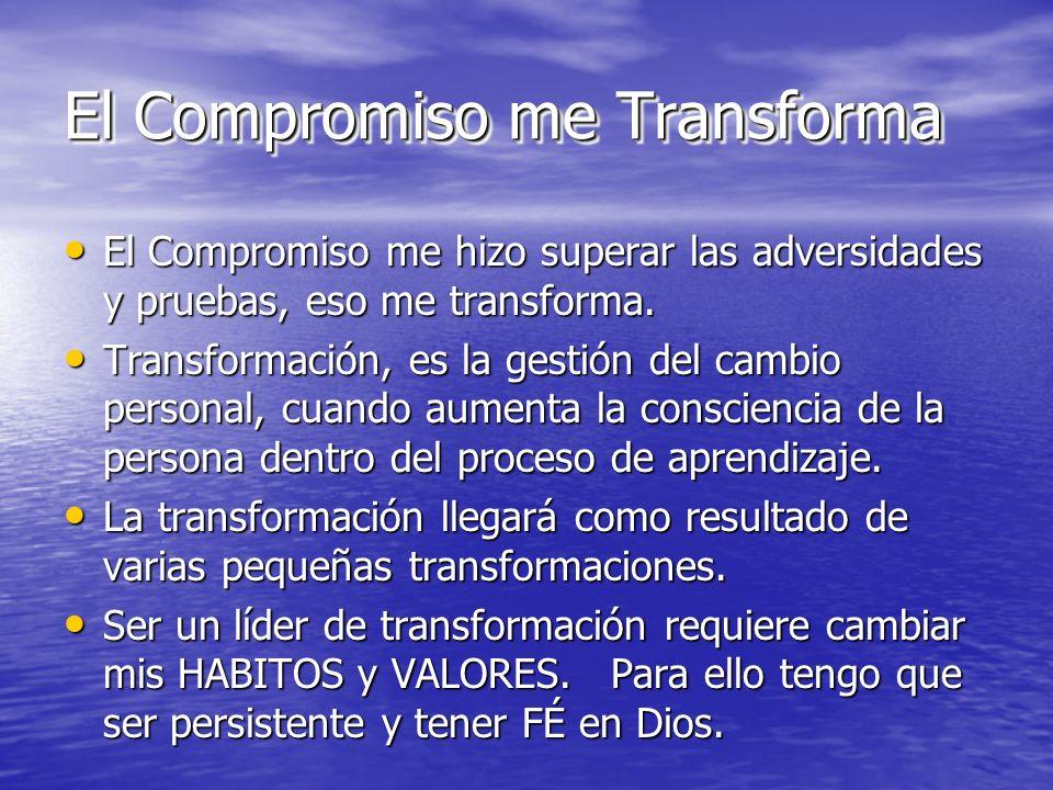 El Compromiso me Transforma